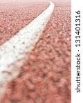 close up curve running track... | Shutterstock . vector #131401316