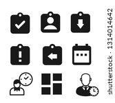 assignments vector icon pack