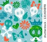 vector seamless pattern ... | Shutterstock .eps vector #131404898