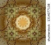 seamless classic vector golden... | Shutterstock .eps vector #1314077138