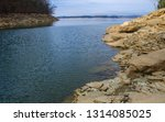 forest lake shore in tennessee  ...   Shutterstock . vector #1314085025