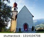 splee   kapelle st. sebastian... | Shutterstock . vector #1314104708