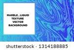 mixture of acrylic paints.... | Shutterstock .eps vector #1314188885