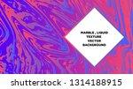 mixture of acrylic paints.... | Shutterstock .eps vector #1314188915