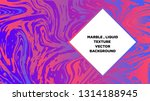 mixture of acrylic paints.... | Shutterstock .eps vector #1314188945