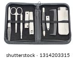a manicure set with a file ... | Shutterstock . vector #1314203315