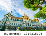 temple of emerald buddha with...   Shutterstock . vector #1314215105