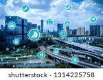 social infrastructure and... | Shutterstock . vector #1314225758