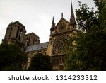 the high spire of the old... | Shutterstock . vector #1314233312