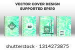mixture of acrylic paints.... | Shutterstock .eps vector #1314273875