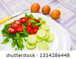 abstract and closeup of boiled... | Shutterstock . vector #1314286448