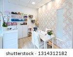reception of beauty  wellness... | Shutterstock . vector #1314312182