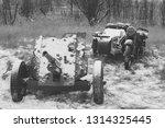 Russian Soviet 45mm Anti Tank...