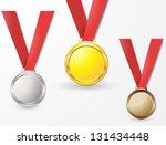 medal | Shutterstock .eps vector #131434448