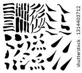 main chinese hieroglyphs...   Shutterstock . vector #1314403712