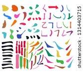 main chinese hieroglyphs...   Shutterstock . vector #1314403715