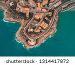 beautiful mediterranian...   Shutterstock . vector #1314417872