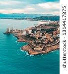 beautiful mediterranian...   Shutterstock . vector #1314417875