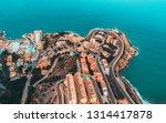 beautiful mediterranian...   Shutterstock . vector #1314417878