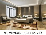3d rendering beautiful luxury... | Shutterstock . vector #1314427715