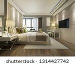 3d rendering beautiful luxury... | Shutterstock . vector #1314427742