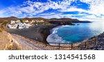 fuerteventura   picturesque... | Shutterstock . vector #1314541568