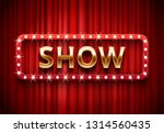 theater show label. festive...   Shutterstock .eps vector #1314560435