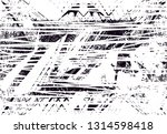 distressed background in black... | Shutterstock . vector #1314598418