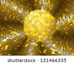 abstract colorful glowing... | Shutterstock . vector #131466335