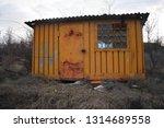 Old Rusty Abandoned Kiosk...