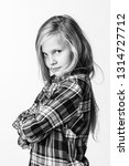 photo black and white portrait...   Shutterstock . vector #1314727712