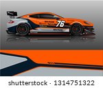 car wrap design vector  truck... | Shutterstock .eps vector #1314751322