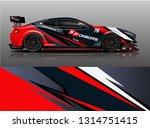 car wrap design vector  truck... | Shutterstock .eps vector #1314751415