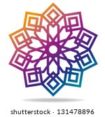 Arabic Decorative Pattern. Islamic Symbol