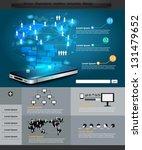 technology business ... | Shutterstock .eps vector #131479652