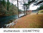 Beautiful River Water Flowing...