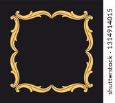 gold ornament baroque style.... | Shutterstock .eps vector #1314914015