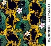 ornamental seamless pattern... | Shutterstock .eps vector #1314923165
