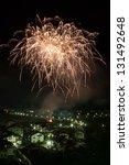 fuochi a tonadico 2013 | Shutterstock . vector #131492648