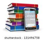 electronic book media ... | Shutterstock . vector #131496758