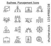 business management  business... | Shutterstock .eps vector #1314988238
