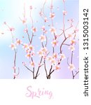 spring design with blooming ...   Shutterstock .eps vector #1315003142