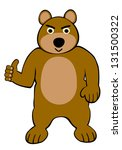 angry bear | Shutterstock . vector #131500322