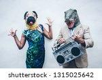 Crazy Senior Couple Dancing Fo...