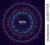 vector big data visualization.... | Shutterstock .eps vector #1315077725