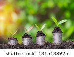 business growth concept.... | Shutterstock . vector #1315138925