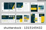 brochure creative design.... | Shutterstock .eps vector #1315145432
