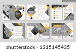 brochure creative design.... | Shutterstock .eps vector #1315145435