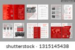 brochure creative design.... | Shutterstock .eps vector #1315145438
