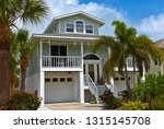 Large Beach House With Deck ...